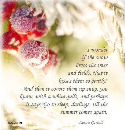 Cute winter poems pictures